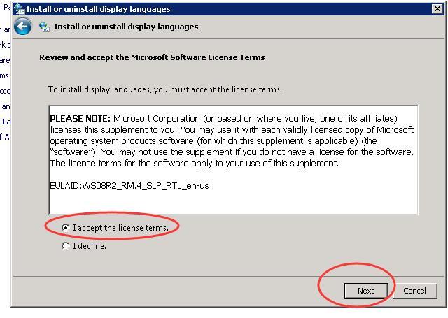 ioZoom英文版windows sever 2008系统安装中文语言包教程插图8