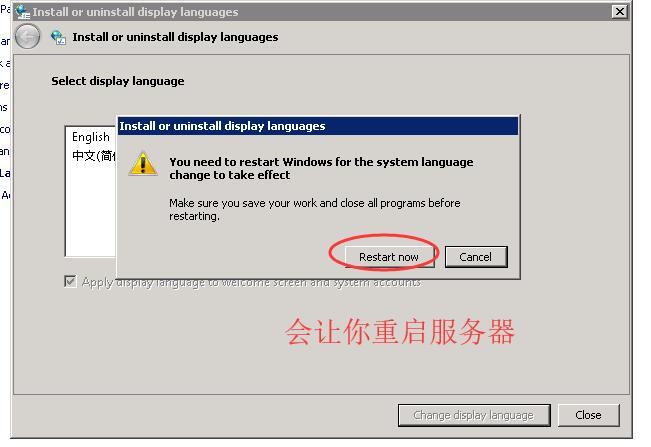 ioZoom英文版windows sever 2008系统安装中文语言包教程插图12