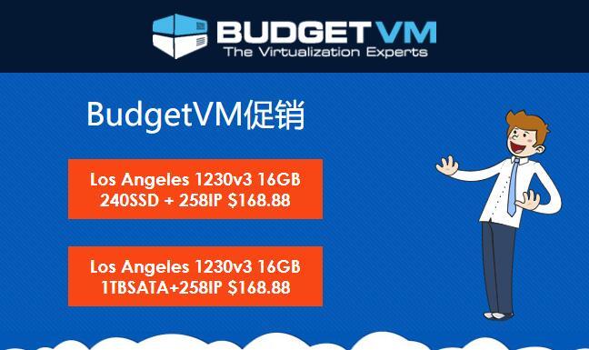 BudgetVM洛杉矶CN2站群独服/E3-1230v3/16GB/258个IP/Enzu机房/168刀/月(日本独服80刀)插图